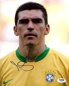 Lucio Autographed 8x10 Photo Brazil PSA/DNA #U54495