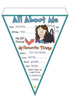 All About Me Bunting!