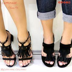 Sacuda_se, as franjas vieram para balançar os visuais mais fashionistas do verão! ☀️☀️❤️ #camminare #shoes #love #moda #mulheres #fashion #streetstyle #style #bestfriends #funthesun #summer