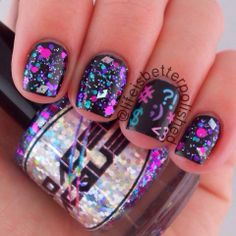 Loaded Lacquer--Texting on the Dance Floor