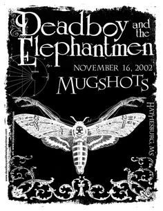 flyer for deadboy and the elephantmen