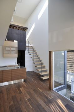 E House / D.I.G Architects  ---  the stairs!!!