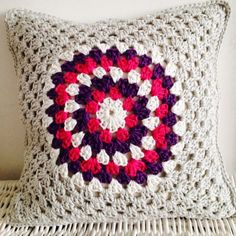 New #crochet cushion by sweet_sharna_makes from 50+ Inspiring Crochet Images