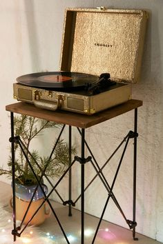Crosley X UO Cruiser Briefcase Portable Vinyl Record Player..Must have because i really need another record player cause everyone needs 2!!