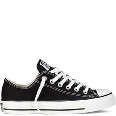 Converse Converse Chuck Taylor All Star Shoes (M9166) Low Top In Black, Size: 9 D(M) Us