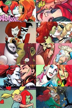 Harlivy (Harley Quinn & Poison Ivy - DC Universe)