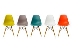 Charles and Ray Eames (Vitra DSW Chair) LOVE.LOVE.LOVE.LOVE.LOVE
