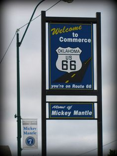 Commerce, Oklahoma on Route 66