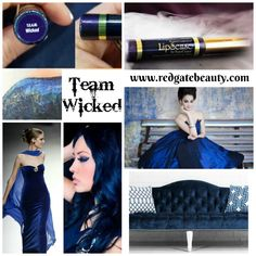 just released. Limited edition Team wicked lipsense www.redgatebeauty.com