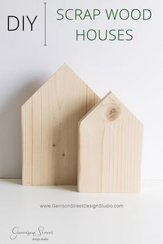 home decor christmas DIY Scrap Wood Houses Wood Block Crafts, Scrap Wood Projects, Wooden Crafts, Wooden Diy, Woodworking Projects, Scrap Wood Crafts, Small Wooden Projects, Vinyl Projects, Christmas Wood