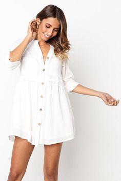 d95fb46c3c0a Next to You Button-Up Shirt Mini Dress - 4 Colors – Beetsweeti Mini Shirt