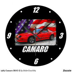 1985 Camaro IROC-Z Large Clock