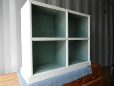 After: Low Bookcase  SOLD!