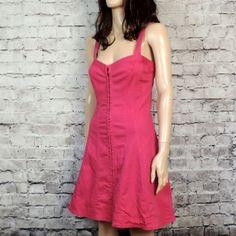 90s Vintage Betsey Johnson Pink Denim  Dress by poetryforjane, $34.00