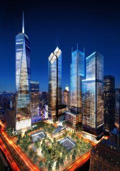 Rebuilding New York City - WTC2 - www.nycgo.com - www.tributewtc.org