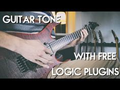 Awesome metal/djent guitar tone with free Logic Pro X plugins! - YouTube Djent Guitar, Logic Pro X, Wordpress Plugins, Learning, Metal, Awesome, Music, Youtube, Free