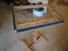 16x22 Floor Stand With Frame Rug Hooking