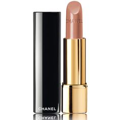 CHANEL ROUGE ALLURE - LE ROUGE COLLECTION N°1Intense Long-Wear Lip... ($37) ❤ liked on Polyvore featuring beauty products, makeup, lip makeup, lipstick, long wear lipstick, long wearing lipstick, chanel lipstick and chanel