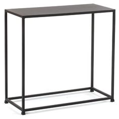Tag Urban End Table - Large by Tag Furnishings. $149.99. Frame made of sturdy solid steel rods. Steel-plated top construction. Sleek and eye-catching contemporary style. Compact design with architectural flair. Features a slightly textured Coco finish. The all-metal, rectangular Tag Urban End Table - Large brings an open-air look and a modern feel right into your living room. This geometric-style table is inspired by architectural designs and is constructed from sturdy solid ste...