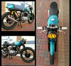 1971 HONDA CB350 cafe racer (Kokomo) $3500