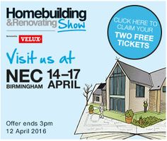 Claim Free tickets from DIY Doctor for the National Homebuilding & Renovating Show 2016 | NEC Birmingham 14-17 April
