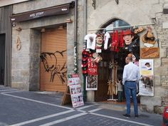 Tienda de suvernirs Pamplona, Street View, Store