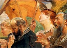 Category:Paintings by Jacek Malczewski in the National Museum in Wrocław Klimt, Art Database, Russian Art, 2d Art, Old Master, National Museum, Art Google, Art And Architecture, Home Art