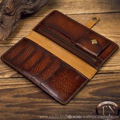 Handmade Leather Wallet, Leather Card Wallet, Tandy Leather, Leather Carving, Wallets For Women Leather, Leather Projects, Custom Leather, Leather Accessories, Long Wallet