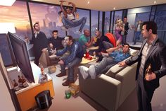 Funny pictures about All the Grand Theft Auto legends in one picture. Oh, and cool pics about All the Grand Theft Auto legends in one picture. Also, All the Grand Theft Auto legends in one picture photos. Gta 5 Online, Patrick Brown, Carl Johnson, Grand Theft Auto 5, Gta San Andreas, Mundo Dos Games, Saints Row, Rockstar Games, Red Dead Redemption