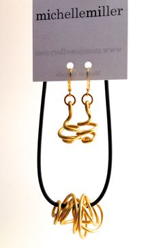 Infinity in Gold with Loopt earrings