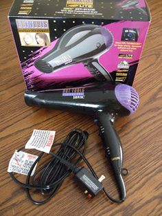 Hot Tools Ionic Hair Dryer Review