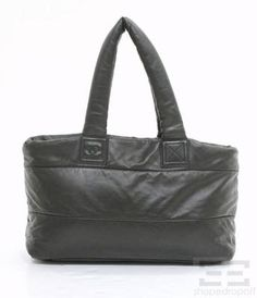 Chanel Black & Maroon Leather Coco Cocoon Medium Zip Tote Bag on auction now at www.shopedropoff.com....eBay #251141084962