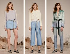 Pretty pastels for the Zoe Jordan collection Zoe Jordan, Pretty Pastel, Ss16, Pastels, Duster Coat, Jackets, Outfits, Collection, Fashion