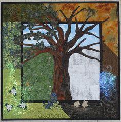 Seasons by ~BenteMalm~ Quilte-Design, via Flickr