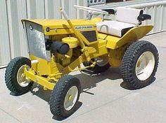 Lawn Tractors, Small Tractors, Compact Tractors, Old Tractors, Home Engineering, Allis Chalmers Tractors, Classic Tractor, Tractor Pulling, Garden Equipment