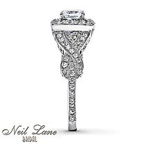Neil Lane Bridal® 14K Gold 1 3/8 Carat t.w. Diamond Ring side view ;)