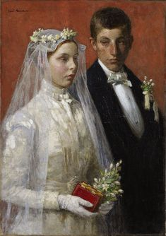Marriage. Julius Garibaldi Melchers 1893