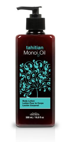Tahitian Monoi Oil Body Lotion  #bodydrench #bodylotion #moisturizer #skinmoisture #lotion