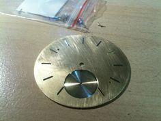 Test with appliques. Second is visible now Appliques, Birth, Clock, Watch, How To Make, Handmade, Riveting, Hand Made, Bracelet Watch