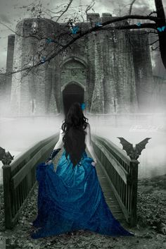 it is when you start believing in fairy tales and your every fantasy creates its own world around you Foto Fantasy, Fantasy Magic, Fantasy World, Dark Fantasy, Fantasy Art, Illustration Fantasy, Fantasy Photography, Color Photography, Goth Art