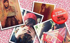 Il y a une seule idée derrière ce site : la mode, la mode, la mode. http://lecollectif.orange.fr/blog-semaine/marie-luv-pink  #blog # mode