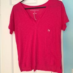 Causal tshirt Cute and comfy,  this tshirt is an essential basic. Aeropostale Tops Tees - Short Sleeve
