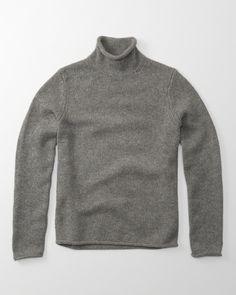 Abercrombie & Fitch Rollkragenpullover aus Wolle