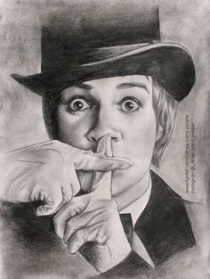 Brendon Urie, mechanical pencil, compressed charcoal, 2014 http://marchingclocks.tumblr.com/