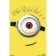 (22×34) Despicable Me 2 Carl Movie Poster