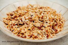 Simple Sun Dried Tomato Pasta -- comfort food at its finest!