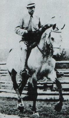 Fadl 1930 Arabian stallion (Ibn Rabdan x Mahroussa, Mabroul Manial) #ArabianHorses #History