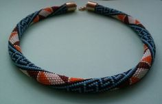 Häkelkette  Schlauchkette Sirtaki von Inspiration auf DaWanda.com
