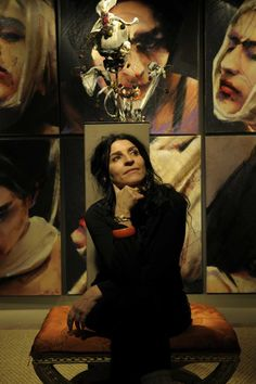 I am an Anthropologist, along with being a painter.  I like to study humans....My art is a coverage of what I see. Some people think my work is blunt. But it is never more cruel than life itself. It is my testimony. -Lita Cabellut