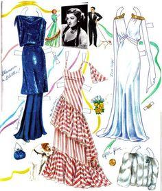 Myrna Loy paper doll | Paper_Dolls- ,